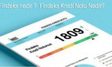 Findeks nedir, Findeks Kredi Notu Nedir?