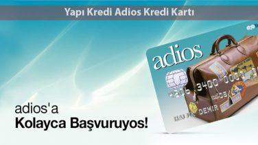 Yapı Kredi Adios Kredi Kartı