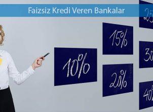 Faizsiz Kredi Veren Bankalar 2018