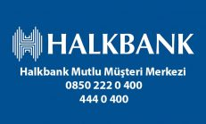 Halkbank Mutlu Müşteri Merkezi 0850 222 0 400 – 444 0 400