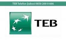 TEB Telefon Şubesi 0850 200 0 666