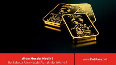Altın Hesabı Nedir? Bankada Altın Hesabı Açmak Mantıklı Mı?